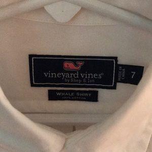 Boys Vineyard Vines White Shirt
